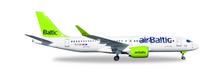 Herpa AirBaltic Bombardier CS300 YL-CSA 1/200