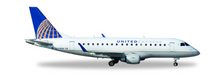 Herpa United Express (Republic Airlines) Embraer E170 N644RW 1/400