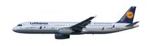 """Herpa Lufthansa Airbus A321 """"25 Jahre Kranichschutz"""" D-AIRR """"Wismar"""" 1/200"""