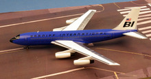 Western Models Braniff International Boeing 720 N7080 'Blue' 1/200