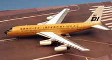 Western Models Braniff International Boeing 720 N7081 'Ochre' 1/200