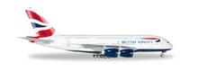 Herpa British Airways Airbus A380 1/200