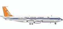 """Herpa  South African Airways Boeing 707-320 - ZS-CKC """"Johannesburg"""" 1/200"""