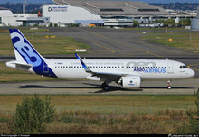 JC Wings Airbus House Colour Airbus 320-200Neo F-WNEO 1/200 JCLH2022