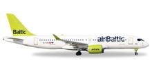 Herpa airBaltic Bombardier CS300 - YL-CSA 1/400