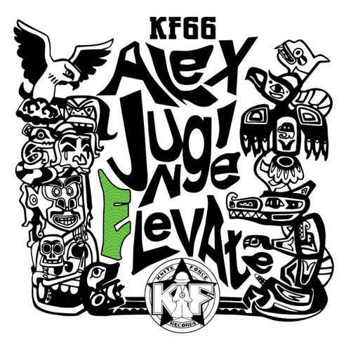 """Alex Jungle - Elevate EP - Kniteforce Records - Limited Edition 12"""" Vinyl"""