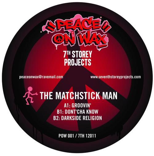 "Fozbee & Cooz / The Matchstick Man - 7 Track EP Limited Edition 2x 12"" Vinyl"