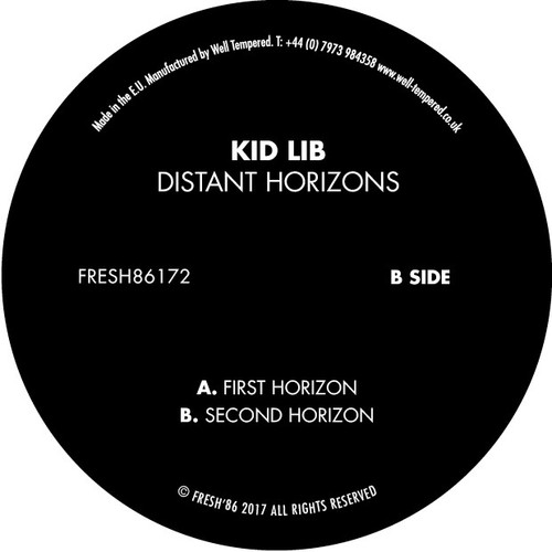 "Kid Lib - Distant Horizons - Fresh 86 - 12"" Vinyl"