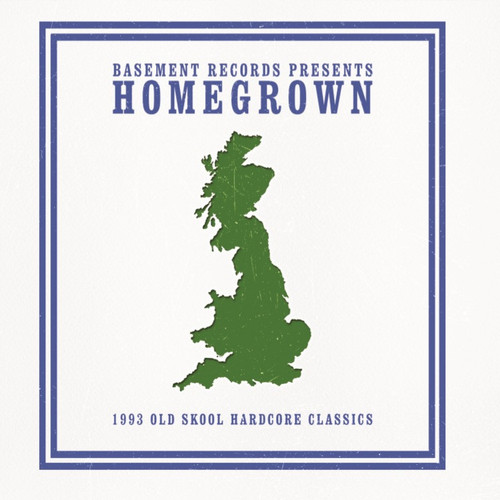 BASEMENT RECORDS present HOMEGROWN 1993 OLD SKOOL CLASSICS (CD Version)