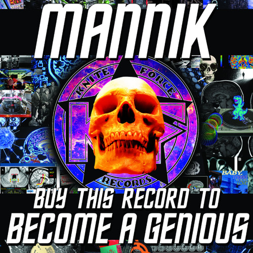"Mannik - Buy This Record To Become A Genious - KF73 - 12"" Vinyl"