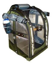 Celltei- Medium- PakOBird- Olive Color- Bird Carrier- Open View