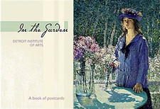 In the Garden Book of Postcards
