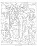 Interior Page from Tom Thomson Coloring Book