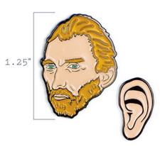 Vincent van Gogh and His Ear Enamel Pins
