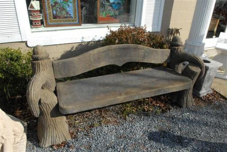 LARGE GARDEN BENCH, ACORN OLD WORLD STYLE