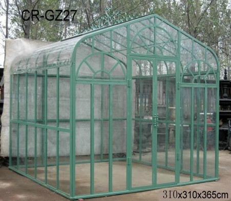"""GREAT AFFORDABLE GARDEN GREEN HOUSE IN MODULAR CONSTRUCTION, 143"""" TALL"""