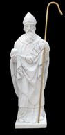 St. Malachy Hand Carved Marble Statue, Life Size