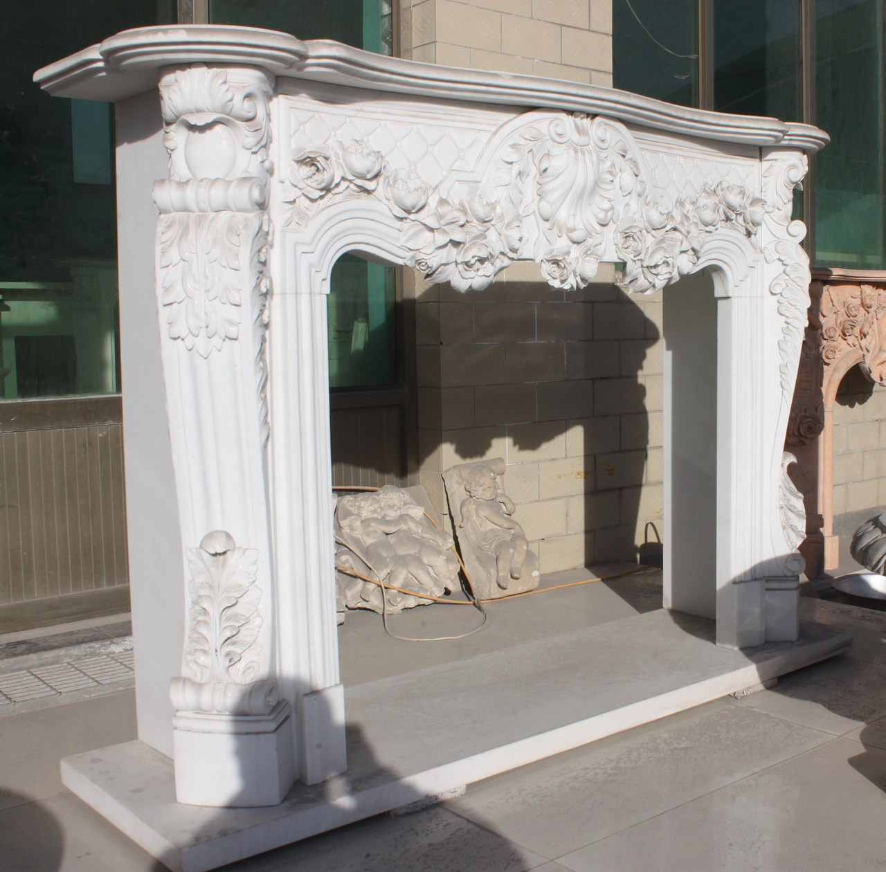 Marble Fireplace Mantels Marble Surrounds Custom Fireplace Mantels