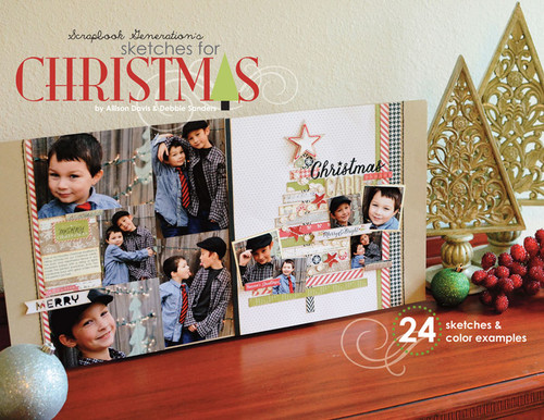 E-BOOK: Sketches for Christmas (non-refundable digital download)