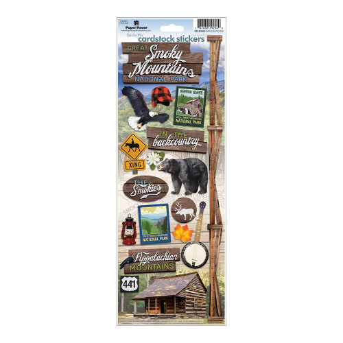 Paper House Productions Cardstock Stickers: Smoky Mountains