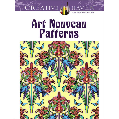 Creative Haven Coloring Book: Art Nouveau Patterns