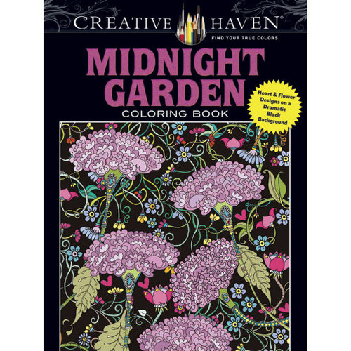 Creative Haven Coloring Book: Midnight Garden