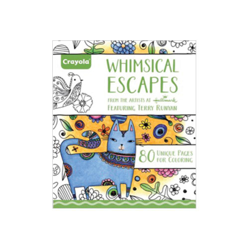 Crayola Coloring Books: Whimsical Escapes