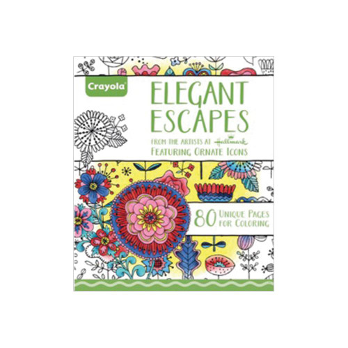 Crayola Coloring Books: Elegant Escapes