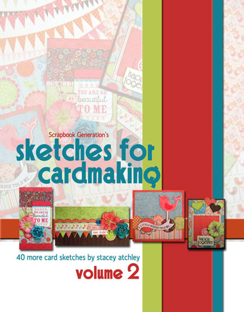 E-BOOK: Sketches for Cardmaking - Volume 2 (non-refundable digital download)