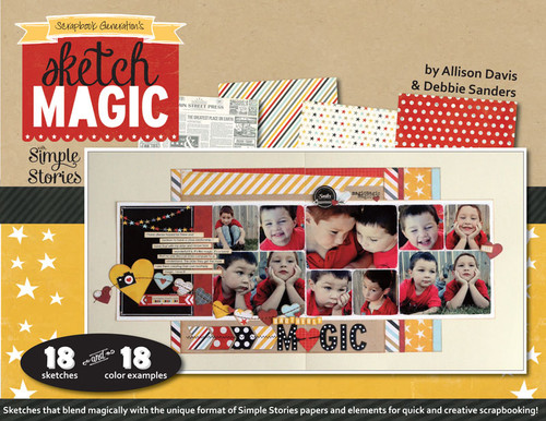 E-BOOK: Sketch Magic with Simple Stories (non-refundable digital download)