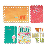 Sizzix Thinlits Dies: Love Today