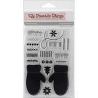 My Favorite Things Clear Stamp: Cozy Mittens
