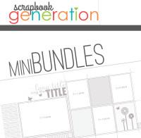 MINI-BUNDLE: April 2015 - Spring One Page