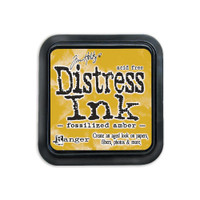 Distress Ink Pad: Fossilized Amber