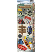 Paper House Productions Cardstock Stickers: Outdoor Adventure