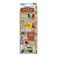 Paper House Productions Cardstock Stickers: Italy