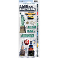 Paper House Productions Cardstock Stickers: NYC