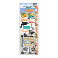 Paper House Productions Cardstock Stickers: Florida