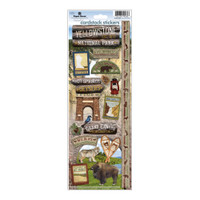 Paper House Productions Cardstock Stickers: Yellowstone