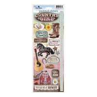 Paper House Productions Cardstock Stickers: Country Girl