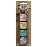 Tim Holtz Distress Ink Pad Mini Kit #4