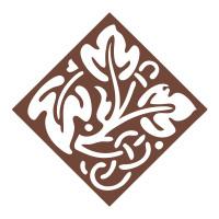 Couture Creations Decorative Dies: Vintage Rose Collection - Celtic Leaf