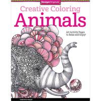 Design Originals Creative Coloring Book: Animals