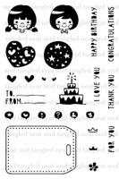 Neat & Tangled 4x6 Clear Stamps: Gifts For You