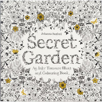 Johanna Basford's Secret Garden - An Inky Treasure Hunt & Coloring Book
