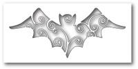 Poppystamps Dies: Swirly Bat Cutout