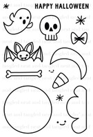 Neat & Tangled 4x6 Clear Stamps: Creepy Cute