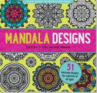 Studio Series by Peter Pauper Press: Mandala Designs Artist's Coloring Book