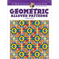 Creative Haven Coloring Book: Geometric Allover Patterns