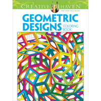 Creative Haven Coloring Book: Geometric Designs